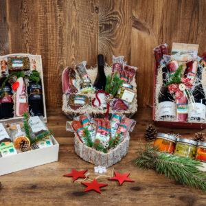 Geschenkboxen und Verpackungen